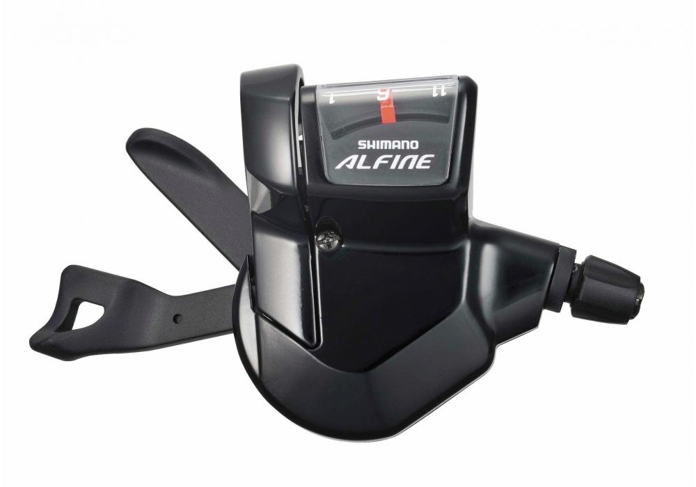 microSHIFT N110 Alfine 11 Speed Drop Bar Shifter Set Black