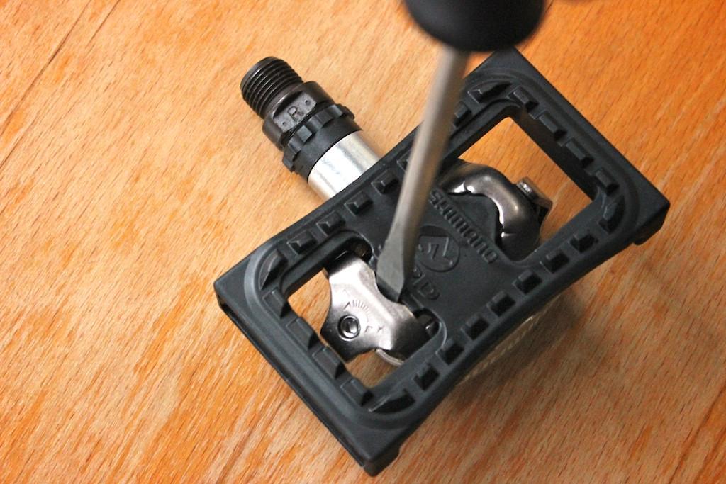 SPD platform adapter from a pedal
