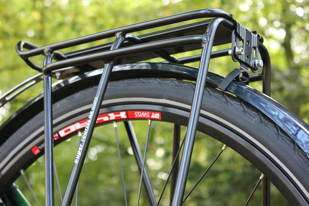 Hebie Mudguards Attached To Rack S Rear Light Mount