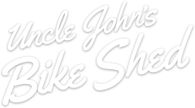 Uncle John's Bike Shed
